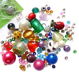 The bead jar kit -everything you need to make 10+ beady jewellery and accessories