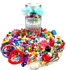 Lady bird bead mix - £6.99